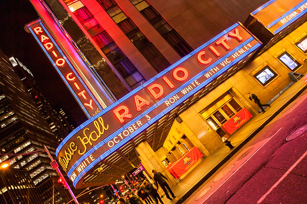 Radio City Music Hall at Rockefeller Center, New York, USA, 2009