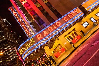 Radio City Music Hall at Rockefeller Center, New York, USA, 2009