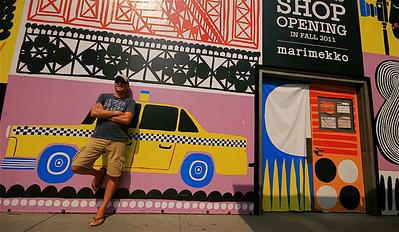 Yellow Cabs @ Fifth Avenue. Midtown, Manhattan, New York, USA.