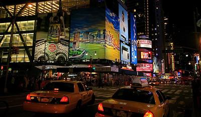 Avenue of the Americas @ Manhattan. New York, USA.
