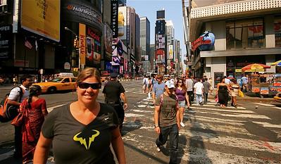 Vamos Rafa @ Times Square. Midtown, Manhattan, New York, USA.