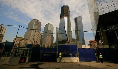 Freedom Tower @ Ground Zero. Lower Manhattan, New York, USA.