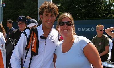 NIc & Robin @ US Open. Flushing Meadows, New York, USA.