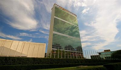United Nations Building, Midtown, Manhattan. New York, USA.