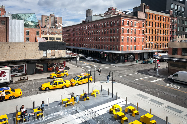 Meatpacking District, view from Highline,  Manhattan, New York, USA, 2009