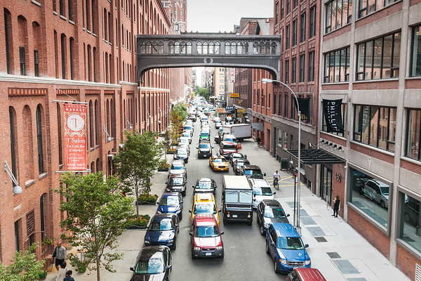 15th street, Meatpacking District, view from Highline,  Manhattan, New York, USA, 2009