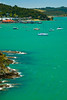 Aerial view of paihia waterfront, Bay of Islands, New Zealand 1