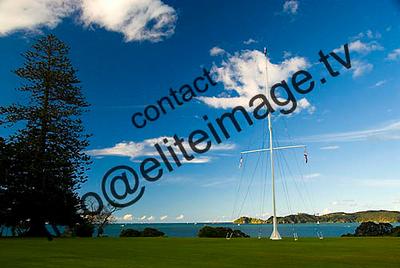 Flag Pole, Waitangi Treaty Grounds, Bay of islands