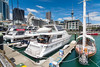Luxury yachts at the Auckland city waterfront, New Zealand, November 2016 [Auckland 2016-11 023 NewZealand]