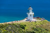 The lighthouse at Cape Reinga, the northernmost part of New Zealand (or near enough, anyway). New Year's Eve Day, 2016.