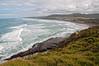 Murawai Beach, west coast of the North Island, New Zealand, December 2010. [Murawai 2010-12 002_TM NI-NZ]