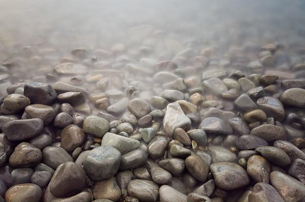 Lake tekapo pebbles. Which don't really convey the astounding colour of the lake...