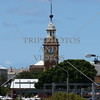 A Clock Tower at the Port of Newcastle in New South Wales, Australia.