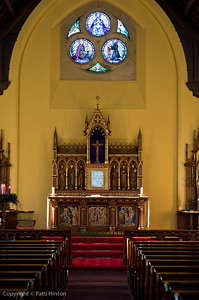 St. Oswin Church, Tynemouth, UK, interior architecture, architecture, church interior