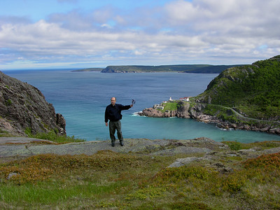 Signal Hill with Fort Amherst in background Newfoundland