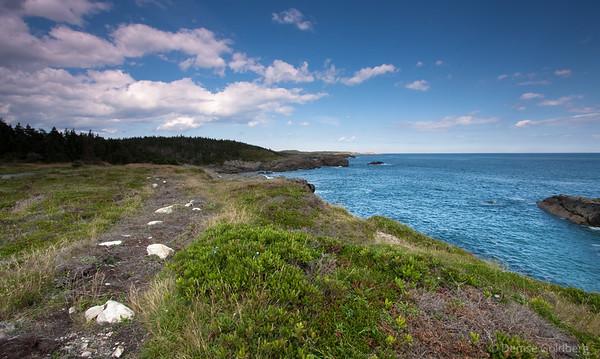 Near Louisbourg Light, Nova Scotia