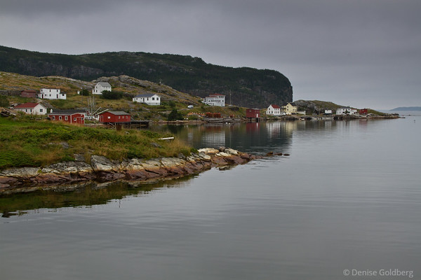 Early morning in Salvage, Newfoundland - at the end of the Eastport Peninsula
