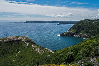 St. John's  outlet to the Atlantic Ocean, and Fort Amherst