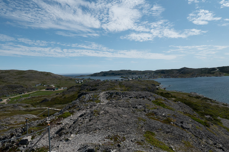 Fogo viewed from Brimstone Trail