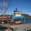 St. John's NF - Offhore oil rig supply ship.