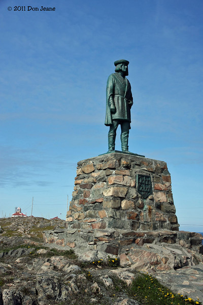 John Cabot landed in this area (Bonavista Peninsula) in 1497.