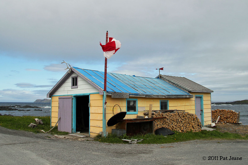 Woodshed, Ship Cove, NL.