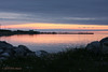 Sunset 6/29/2011. Cow Head, NL. Summerside (The Head).