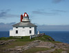 Original Cape Spear Lighthouse, circa 1836.