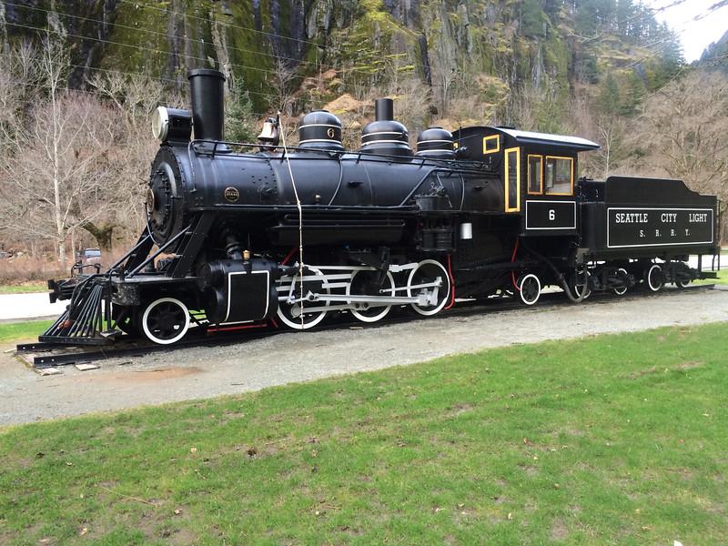 Newhalem Locomotive