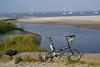 3rd Beach, Middletown, RI and Bike Friday Crusoe.