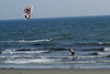 Kite surfing on 2nd Beach, Middletown, RI