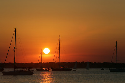 Sunset, Newport, RI