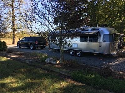 Huge, level, camping spot!