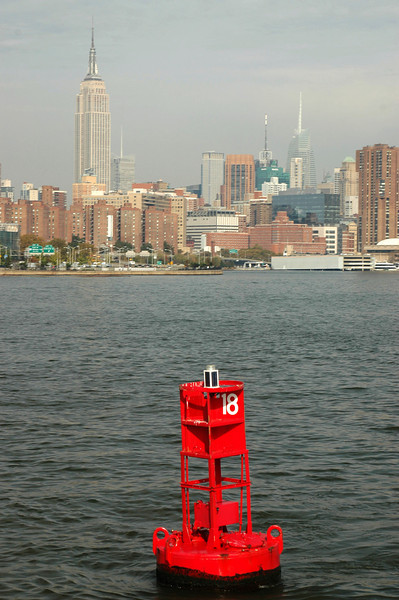 Manhattan from buoy 18.