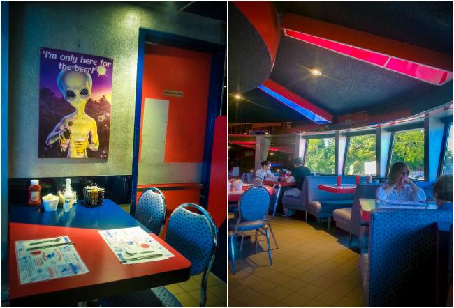 Flying Saucer Restaurant