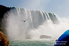 Niagara Falls, Photo Taken from Maid of the Mist, New York, USA, North America