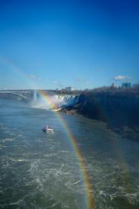 Double Rainbow Receding