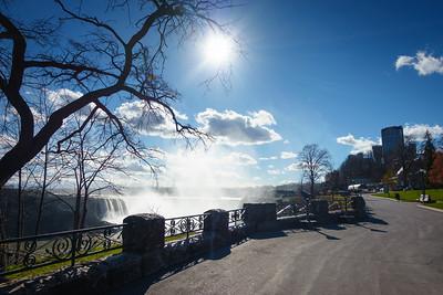 Looking South Along Niagara Parkway