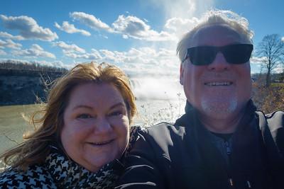 Horseshoe Falls Selfie