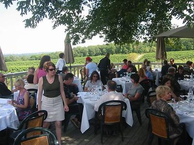 Lunch at Vineland Estates