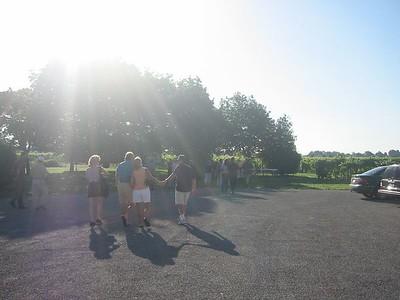 Breakfast in the Vineyard