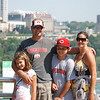 Eric, Mandy, Dylan and Madison at Niagra Falls