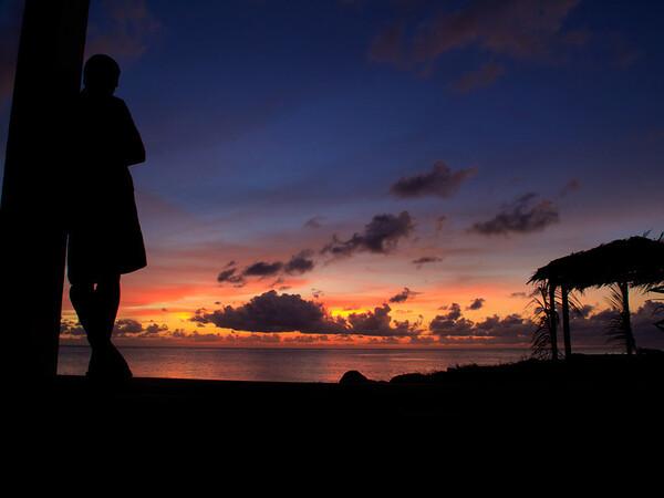 sunset from La Princesa de la Isla,  Big Corn Island, Nicaragua