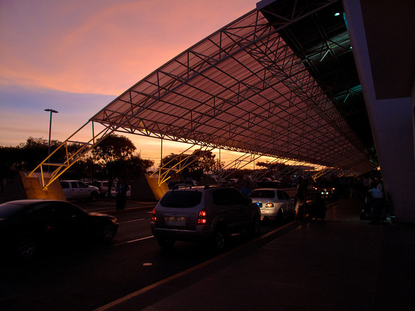 5am Managua airport - waiting for my flight to the corn islands