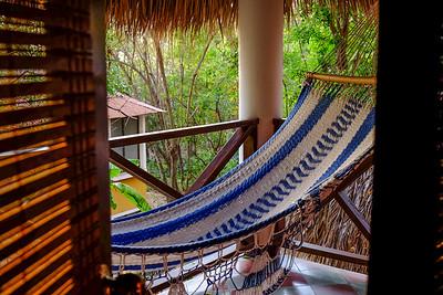 Comfy hammock.