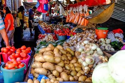 Open air market. Diriamba - Carazo, Nicaragua.