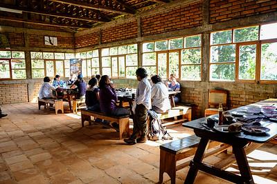 Dining/gathering hall.