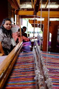 Telares indigenas de El Chile weaving co-op. El Chile, Nicaragua.