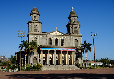 The Old Cathedral of Managua - Catedral de Santiago