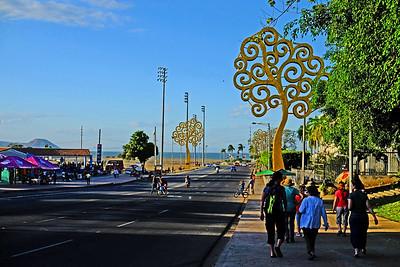View to Lake Managua.